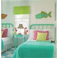 Yazlık Ev Yatak Odası Dekorasyonu