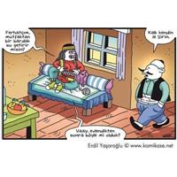 Ferhat İle Şirin Evlenirse - Karikatür