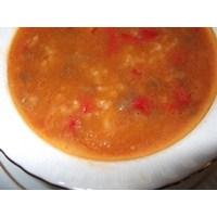 Pirinçli Yeşil Mercimek Çorbası