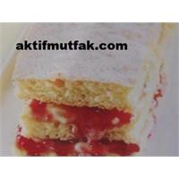 Ahududu Marmelatlı Pasta Nasıl Yapılır?