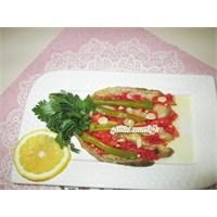 Közlenmiş Patlıcan, Salatası