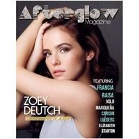 Zoey Deutch Afterglow Dergisi'nin Aralık Sayısında