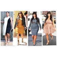 Kim Kardashian'ın Hamile Tarzı