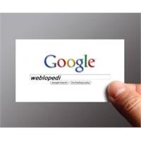 Google İle Dost Olmak
