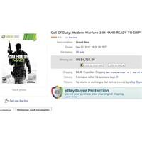 Modern Warfare 3 Rekor Satış Fiyatı