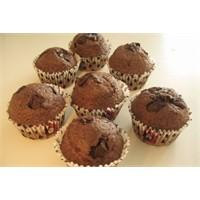 Çok Lezzetli Çikolatali Muffin
