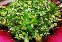 Pirinçli Bakla Salatası