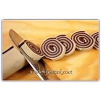 Kakaolu Fırıldak Kurabiye Tarifi (10 Kişilik )