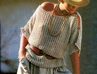 Merserize Bej Bluz Modeli-anlatımlı