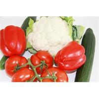 Günde Beş Porsiyon Meyve Ve Sebze Tüketerek Hastal