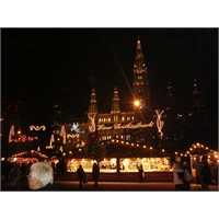 Fotoğraflarla Viyana'da Noel
