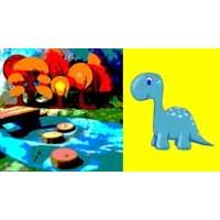 Küçük Mavi Bir Dinozor: Lumpi Lumpi