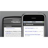 Wordpress Bloglarınız İçin Mobil Kullanım
