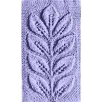 Yaprak Örgü Motifi Nasıl Yapılır?