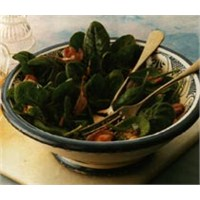 Fırınlanmış Ispanak Salatası