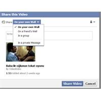 Facebook'tan Yeni Paylaşma Seçenekleri
