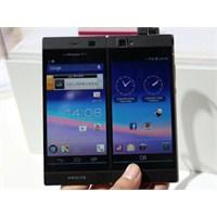 Çift Ekranlı Telefon Tanıtıldı