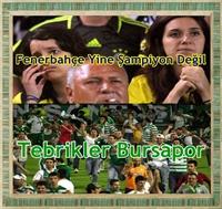 Fenerbahçe Yine Şampiyon Değil!