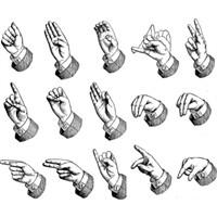 Yazı Dilini İşaret Diline Çeviren Sistem