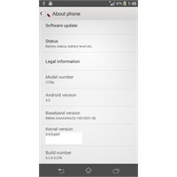 Xperia Sp Ve Xperia T İçin Android 4.3 Romu Hazır!