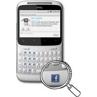 Facebook Düğmeli Htc Chacha Geliyor