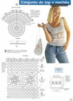 Yazlık Beyaz Tığ İşi Bluz Modeli (şemalı)