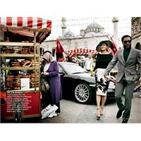 Kate Moss İstanbu'da
