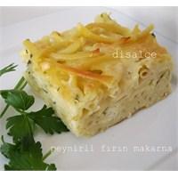 Peynirli Fırın Makarna...Disalce