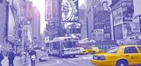 Times Squarede Gündüz Işıkları