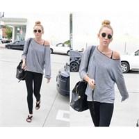 Miley Cyrus'den Rahat Bir Kombin