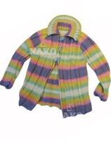 Renkli Çocuk Hırka Modeli Ve Yapılışı