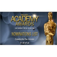 84.Oscar Ödülü Adayları Açıklandı