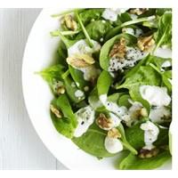 Rokforlu Ispanak Salatası