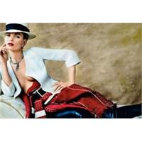 Stil İkonu Kate Moss'un Vogue Çekimleri