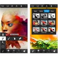 Photoshop Touch'ın Yeni Sürümü Hazır!..