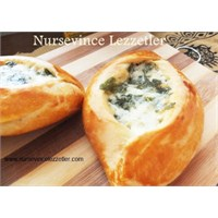 Peynirli Karnı Açık Poğaça Tarifi