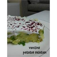 Patates Salatası(Kornişon Ve Yeşil Soğanlı)