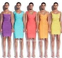 Herve Leger'nin 2010 Cruise Elbise Modelleri