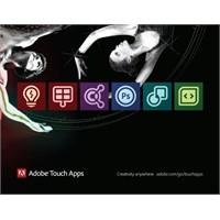 Adobe Touch Apps Yazılımları Geliyor