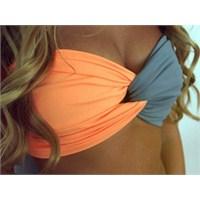 Straplez Bikini Üstleri