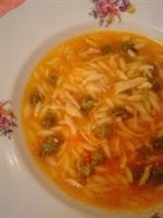 Tavuklu Bamya Çorbası