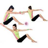Ebru Şallıdan Göbek Eriten 7 Pratik Egzersiz