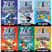 Çocuklara Müjde! Zac Power'ın Yeni Kitapları Çıktı