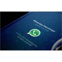 Whatsapp Kendi Kendini Öldürdü