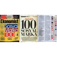 En Güçlü 100 Sosyal Marka Araştırma Sonuçları