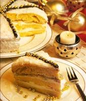 Yılbaşı Pastası-incili
