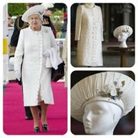 Kraliçe Elizabeth'in Diamond Jubilee Şıklığı