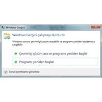 Windows Gezgini Durduruldu Hatası (Çözüldü)