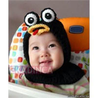 Bebek Örgü Şapka Örnekleri
