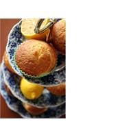 Limonlu Kremalı Kekler